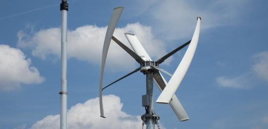 Klein windanlage